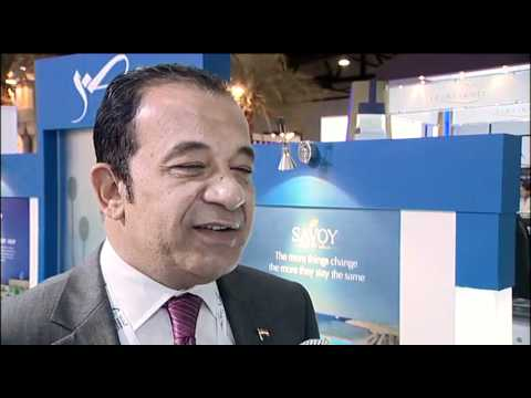 Ramy Rizkallah, Area Director of PR, Savoy Group, Egypt @ ATM 2011