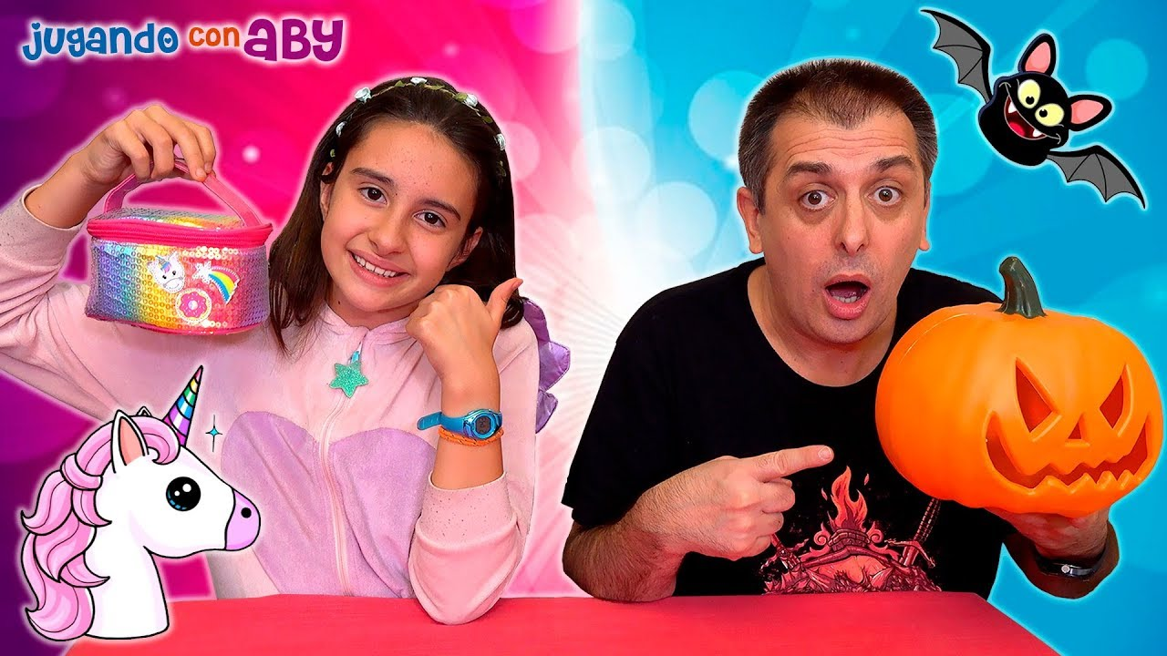 Día Del Unicornio Vs Halloween Aby Youtube