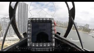 Flying A Fighter Jet Between Buildings   Best ompilation