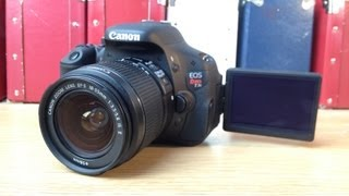 Canon EOS Rebel T3i (600D) Digital SLR Camera Unboxing