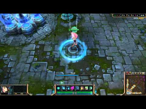 [PBE - 11/08/13] - Popstar Ahri's Recall Music and Animation