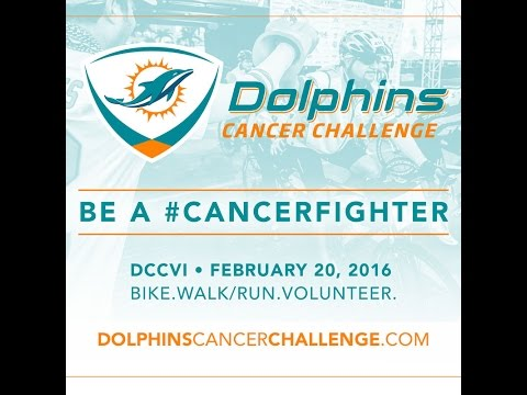 Preview: Dolphins Cancer Challenge 2016