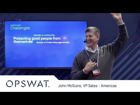 Network Security Presentation By OPSWAT VP Sales - Americas John McGuire