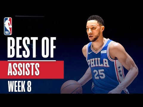 NBA's Best Assists | Week 8 | State Farm