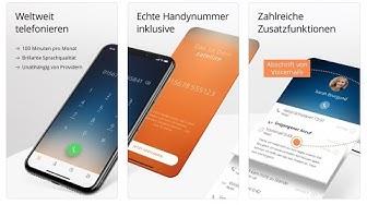 Kostenlose App mit echter dt. Handy Rufnummer - satellite