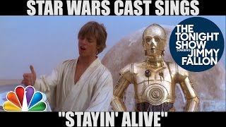 Star Wars Stayin Alive Mashup Lyrics