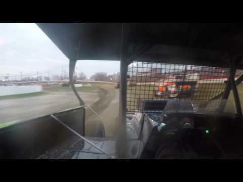 Grandview Speedway Sportman Heat Race 4-15