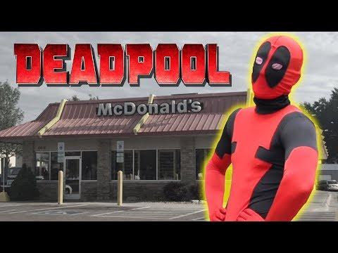 Deadpool Visits McDonalds And Burger King