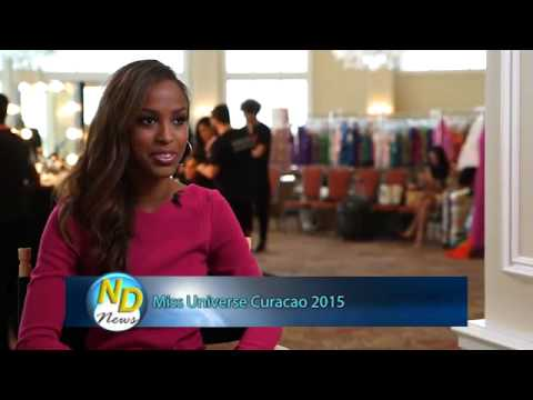 Interview Miss Curacao - Laurien Angelista (24ora com & iTV