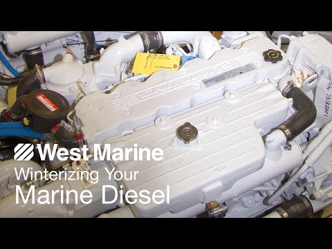 Winterizing Your Marine Diesel