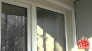 Остекление балкона 1-515 раздвижными алюминиевыми окнами(Компания Арсеналстрой представляет проект остекления раздвижными окнами и комплексный ремонт на примере..., 2015-06-01T13:01:28.000Z)