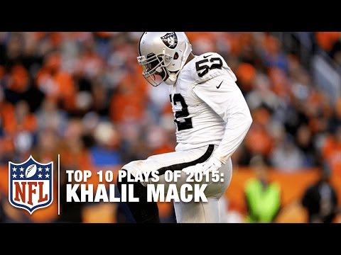 Top 10 Khalil Mack Highlights of 2015 | NFL