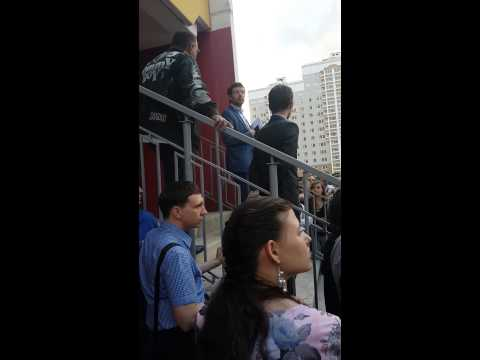 Cобрание дольщиков возле 11 корпуса Мортонград Бутово 3-я очередь, д. Дрожжино 06/08/2015