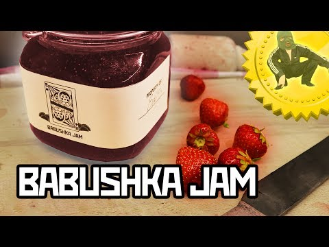 Babushka's Strawberry Jam - Cooking with Boris