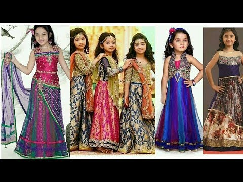 fa1e50259d502 Latest Fancy Dress Designs for baby girls 2018 - YouTube