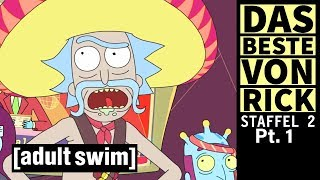 Rick & Morty | Das Beste von Rick: Staffel 2 Pt. 1  | Adult Swim
