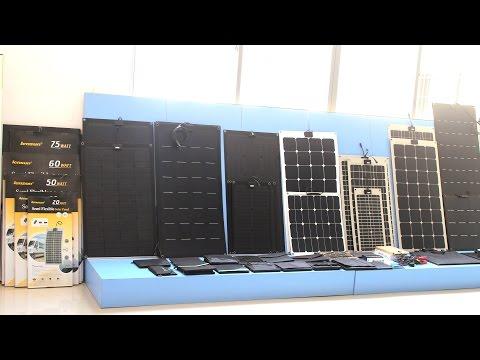 Lensun Solar Energy - Professional Flexible Solar Panels Manufacturer - Lightweight, Portable, Thin