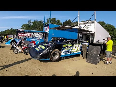 World of Outlaws - Pit Walk | Eriez Speedway | 8-20-17