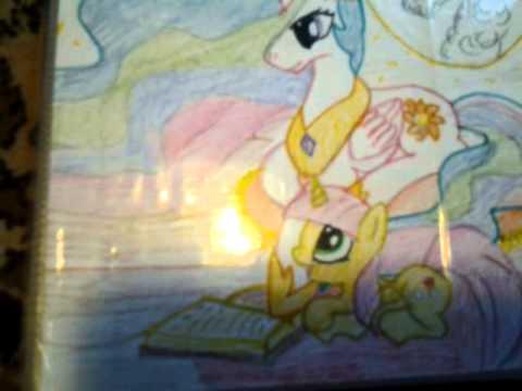 Пони Дружба это чудо клип из картинок (My Little Pony - Моя Маленькая Пони)