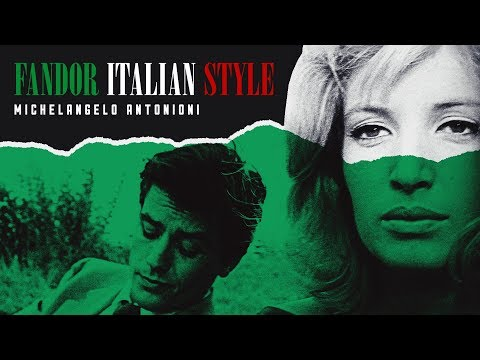 dor Italian Style: Michelangelo Antonioni