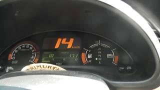 на 1 литре бензина 100км. Хонда 2003г. с помощью своего опыта