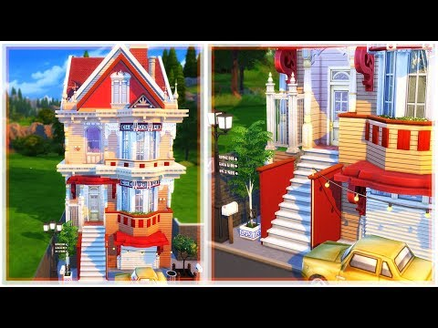 THE SIMS 4 HOUSE BUILDING | SAN FRAN Houses (Collab)