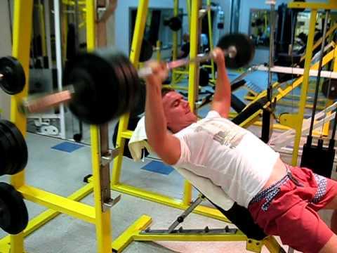 Incline Bench Press  Atlas Gym Belgrade!!!