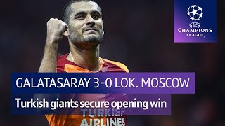 Galatasaray vs Lokomotiv Moscow (3-0) UEFA Champions League Highlights