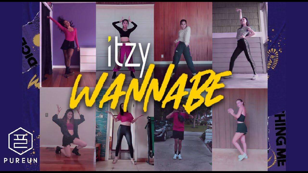 KPOP AT DUKE: ITZY WANNABE Quarantine Dance cover   DUKE PUREUN