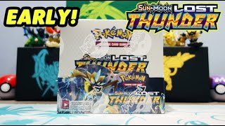 NEWEST Pokemon Lost Thunder Booster Box Opening Part 1