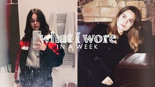 What I Wore In A Week | Lucy Moon