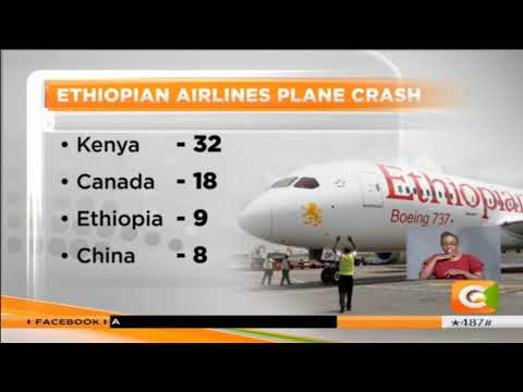 Over 35 countries lost citizens in Ethiopian Airlines plane crash