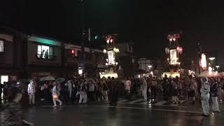 あばれ祭り 2018.07.07 立町 新町交差点