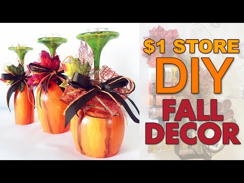 DIY FALL DECOR DOLLAR TREE