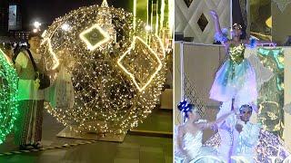 Stunning Christmas Lights Display In Bangkok