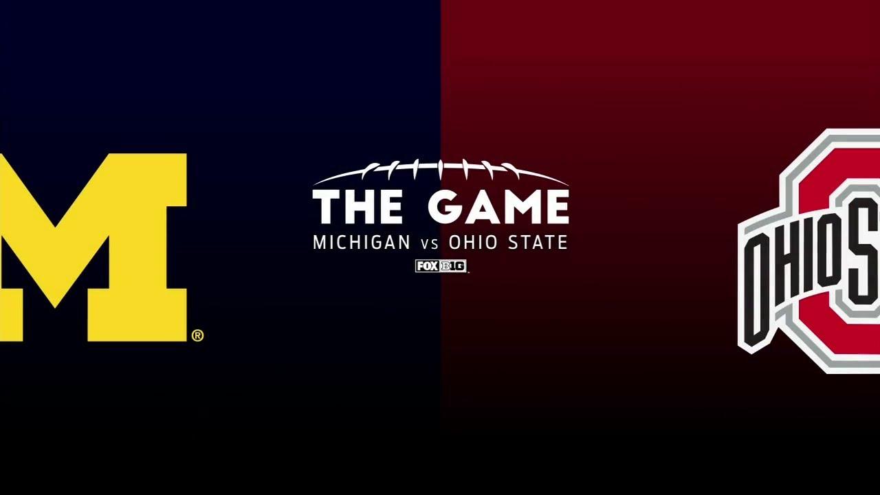 2018 College Football Ohio State Vs Michigan