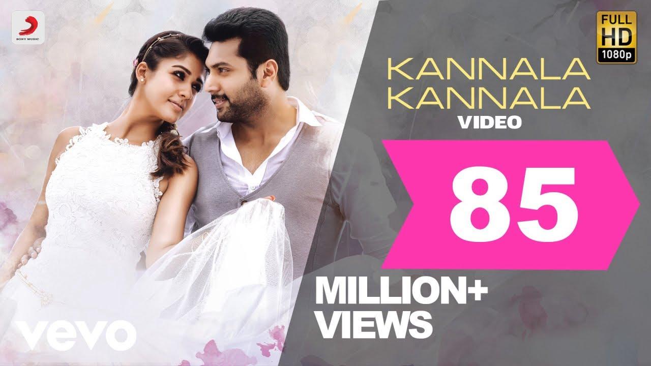 Download Thani Oruvan - Kannala Kannala Video | Jayam Ravi, Nayanthara | Hip Hop Tamizha