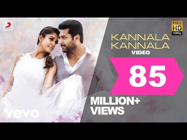 Thani Oruvan - Kannala Kannala Video | Jayam Ravi, Nayanthara | Hip Hop Tamizha