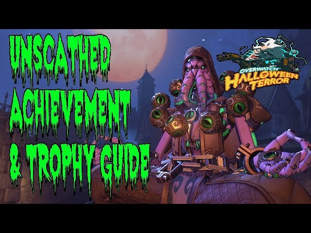 Overwatch Halloween 2020 Trophies Overwatch   Unscathed Achievement & Trophy Guide   YouTube