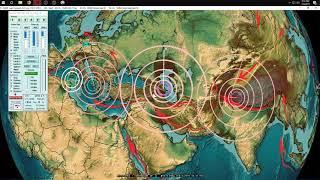 2/06/2019 -- Global Earthquake Update -- USA on watch -- Transfer of seismic energy across Asia + EU