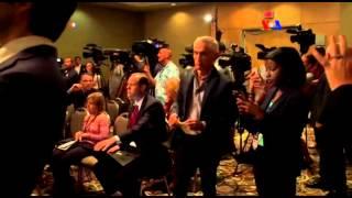 Trump pelea con influyente periodista hispana