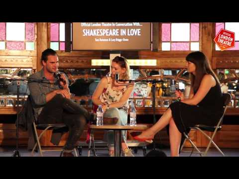 In Conversation With... Shakespeare in Love's Lucy Briggs Owen & Tom Bateman
