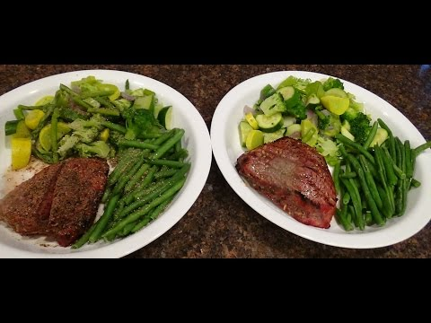 30 Minute Low Carb Steak Dinner For Two