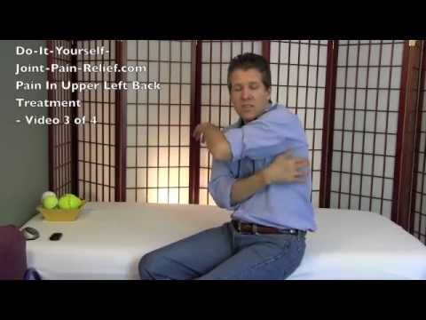 Pain In Upper Left Back Treatment Video 3 Of 4 Youtube