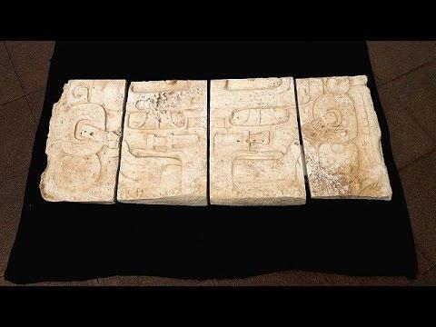 Des chefs d'oeuvres de l'art Maya restitués au Guatemala