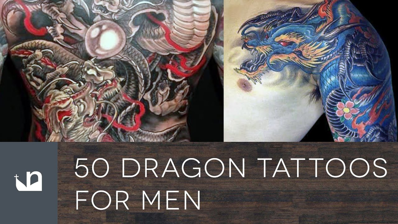 50 Dragon Tattoos For Men