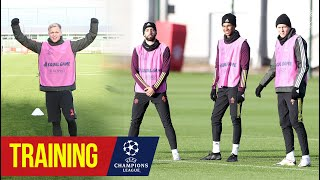 Training | Reds prepare for PSG Champions League clash | Manchester United