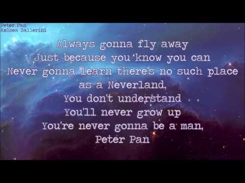 Peter Pan - Kelsea Ballerini {LYRICS}