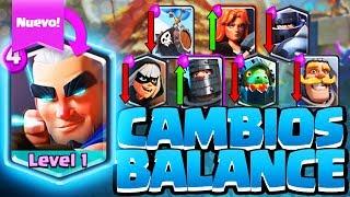 EL ARQUERO MÁGICO ¡¡NUEVOS CAMBIOS DE BALANCE!! | Sneak Peek | Clash Royale