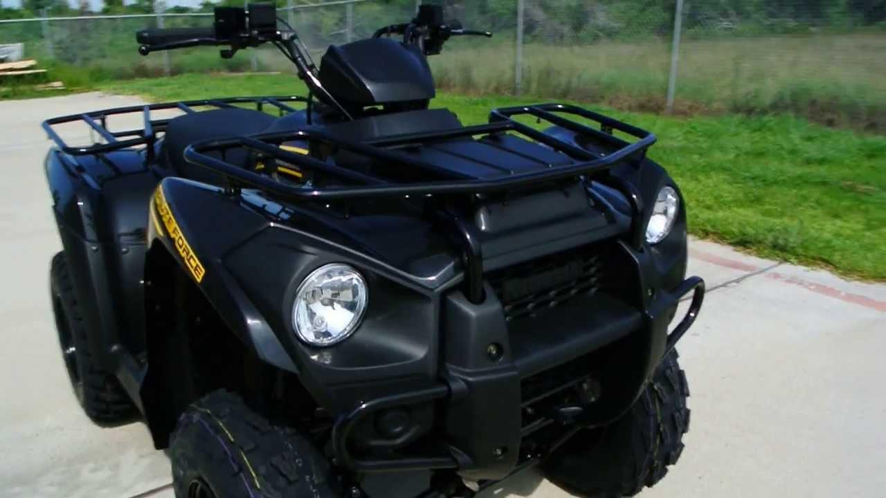 Kawasaki Four Wheeler >> Review: 2013 Kawasaki Brute Force 300 in Super Black ATV
